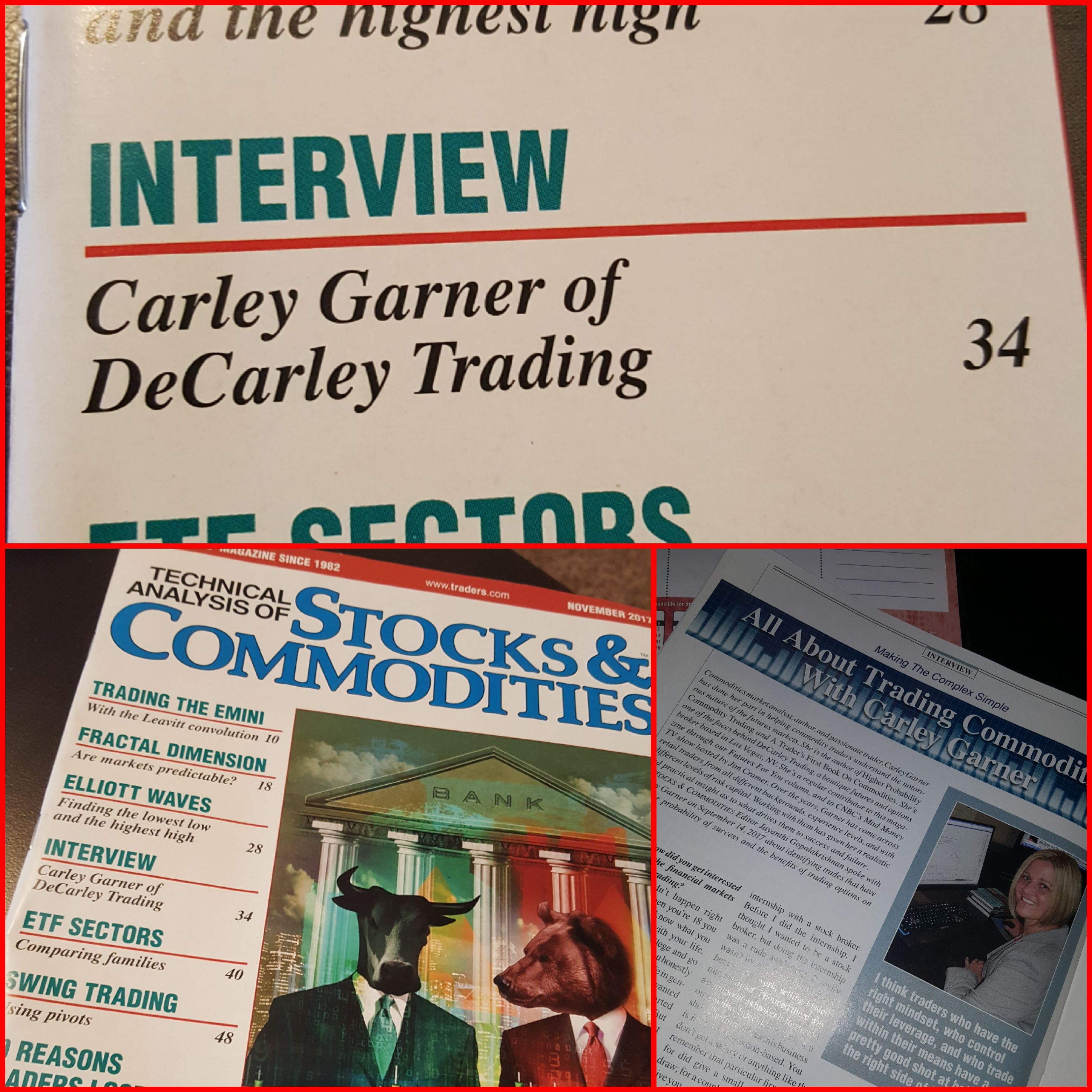 See futures broker, Carley Garner, in Technical Analysis of Stocks & Commodities magazine