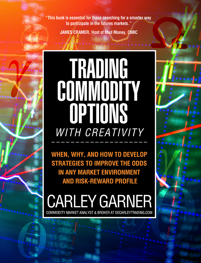 Trading Commodity Options with Creativity, latest book by Carley Garner