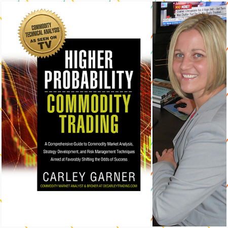 Carley Garner futures broker and author of Higher Probability Commodity Trading