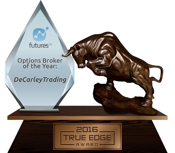 Commodity Option Broker of the Year Award DeCarley Trading