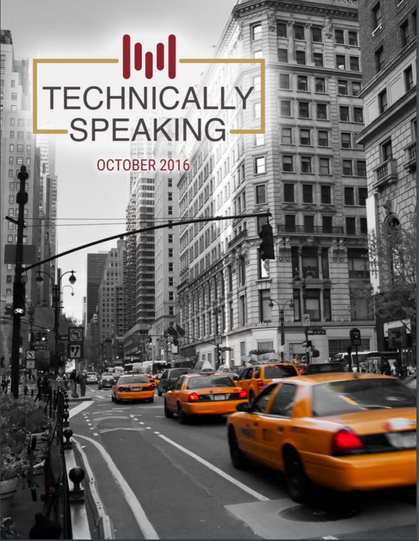 Technically Speaking Technical Analysis Newsletter