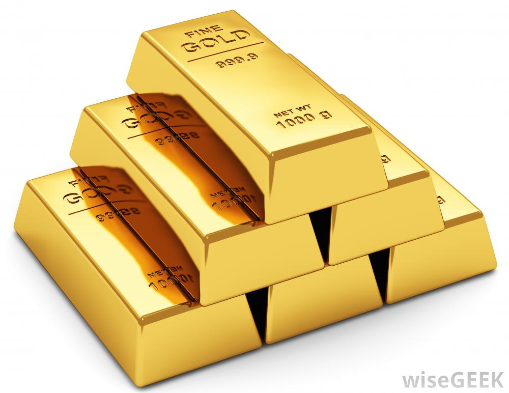 bars of gold commodities