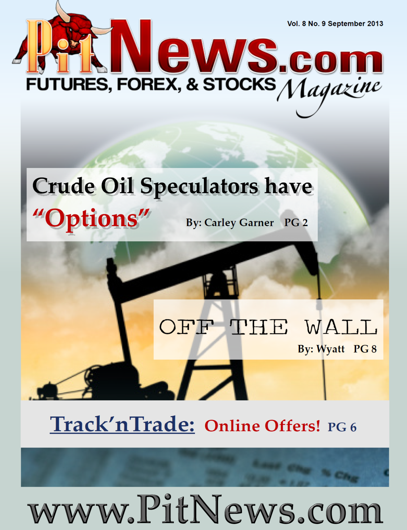Commodity Futures and Options Trading Magazine, Pitnews