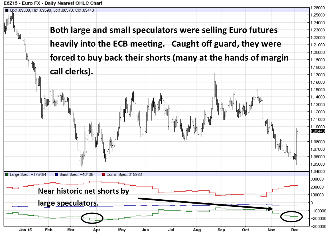 Euro Currency Futures and the COT Report